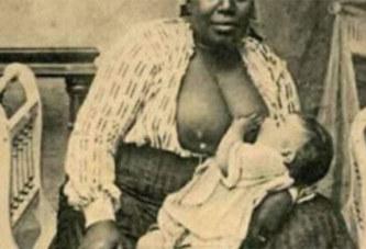 La face cachée de l'Histoire : le sein droit était réservé aux enfants noirs et le sein gauche aux enfants blancs