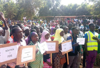 Burkina – Loroum: Des manifestants s'insurgent contre l'insécurité