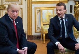 Trump attaque violemment Macron sur Twitter