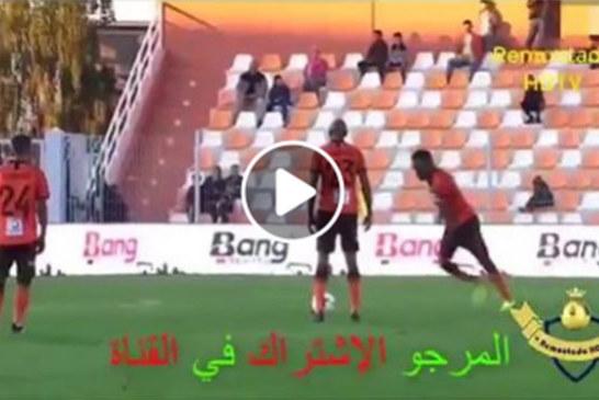 COUPE CAF: Alain Traoré marque un but sur coup franc .(RS Berkane 3 / Al Ittihad 0)