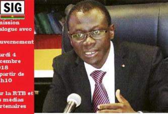 Justice: Le ministre René Bagoro à cœur ouvert ce mardi 4 décembre à la RTB