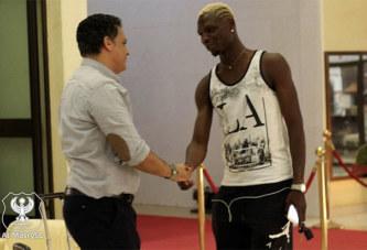 Aristide Bancé a eu une réunion à huis clos avec le manager d'Al Masry Ehab Galal, hier à Ouagadougou.