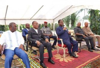 Côte d'Ivoire : Depuis Daoukro, la cour royale des Baoulés chez Bédié en langue baoulé