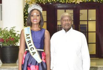 Les cheveux «indiens» de Miss Afrique