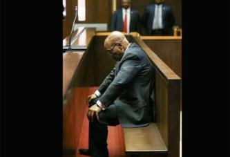 La photo de l'ex président sud-africain Jacob Zuma qui fait le buzz