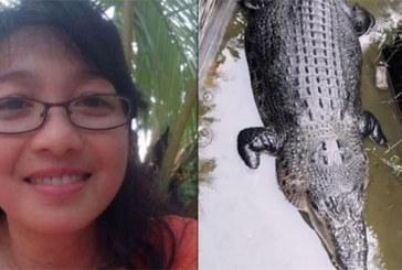 Une femme de 44 ans dévorée vivante par un crocodile de 5 mètres