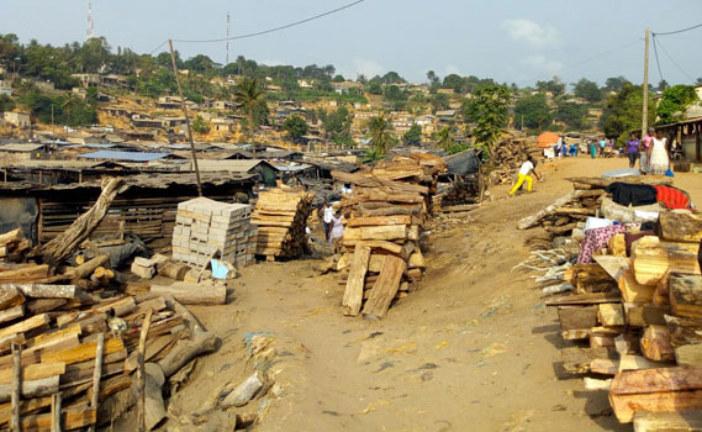 Le plus gros bidonville de Sassandra rasé en mars