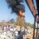 Kombissiri : l'incendie d'un entrepôt de carburant maitrisé