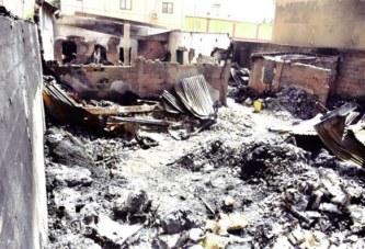 Incendie à Saint-Léon : un magasin et une maison d'habitation partis en flammes