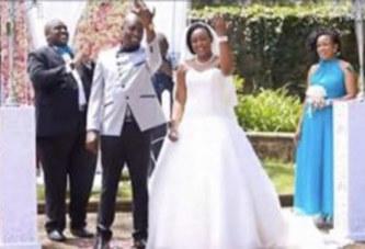 Elle était au mariage de sa meilleure amie en 2015. En 2019 elle devient la mariée du même homme