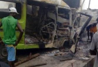 RD Congo : Chargé d'acide, le camion emboutit un bus et fait 18 morts