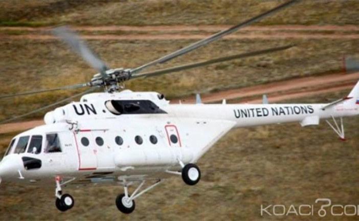 Soudan du Sud :Trois morts et 10 blessés dans le crash d'un hélicoptère de l' ONU