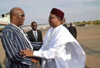 Changements climatiques: Le président du Faso a Niamey