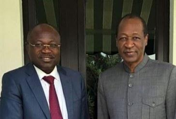 CDP : Eddie Komboïgo au rapport chez Blaise