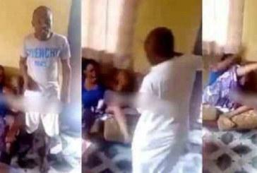 Vidéo: Une femme fouettée sévèrement par ses frères pour une infidélité
