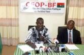 » Le CFOP n'acceptera pas que les élections présidentielles et législatives de 2020 soient découplées» Mamadou Kabré