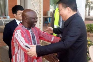 Visite du parti communiste chinois (PCC) au Burkina: Le vice-Ministre Yezhou GUO au Centre International de formation politique Kwamé N'hrumah du MPP.