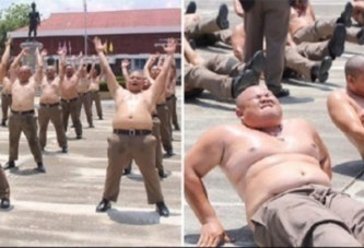 Thaïlande: les policiers en surpoids envoyés dans un camp d'entraînement pour perdre du poids