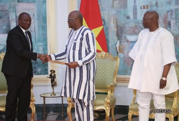 Burkina Faso-Côte d'Ivoire : Hamed Bakayoko porteur d'un message