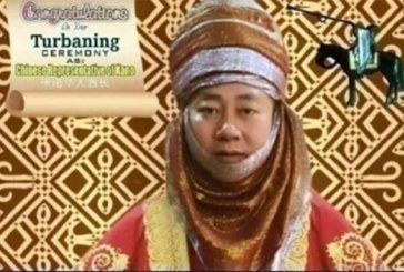 Un Chinois intronisé chef au Nigeria (photos)
