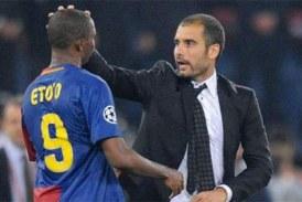 Eto'o en veut toujours à Guardiola: «Tu me demanderas pardon»
