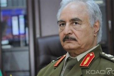 Libye: Mandat d' arrêt émis contre le maréchal Khalifa Haftar