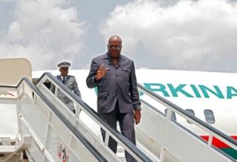 Coopération: Le président du Faso à Abou Dabi