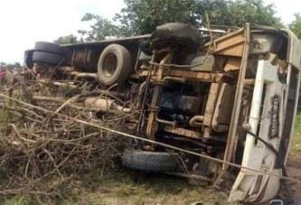 BITTOU : Un accident de route fait plusieurs morts.