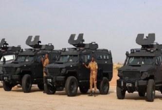 Coopération: le Qatar livre 24 blindés au Burkina Faso