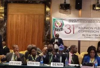 Lutte contre le blanchiment d'argent et le financement du terrorisme en Afrique de l'Ouest:Le Burkina Faso évalué à Conakry