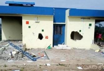 Côte d'Ivoire : Un policier abat un chauffeur de moto-taxi, les populations en colère saccagent le nouveau poste de police frontalière de Sipilou
