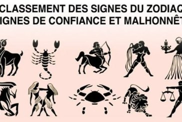 Astrologie : voici le classement des signes du zodiaque indignes de confiance et malhonnêtes