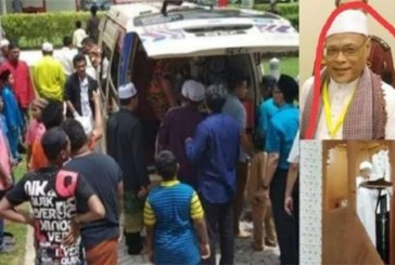 Malaisie : Un Imam s'évanouit et décède en prononçant le sermon du vendredi (vidéo)