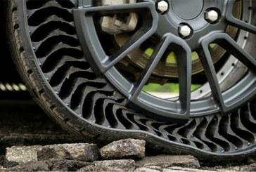 Michelin dévoile un pneu increvable