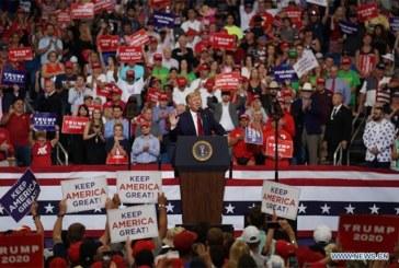Trump donne officiellement le coup d'envoi de sa campagne électorale 2020