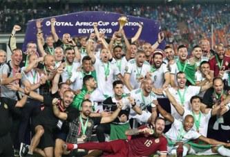 CAN-2019 : l'Algérie sacrée championne d'Afrique pour la 2e fois de son histoire