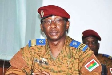 Burkina Faso: Auguste Denis BARRY mis en accusation