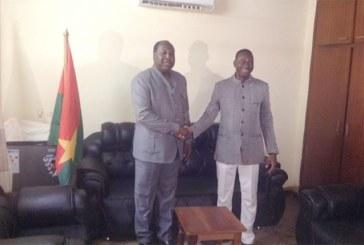 Burkina: e Directeur général du Fonds permanent pour le développement des collectivités territoriales reçu par Le Chef de file de l'Opposition