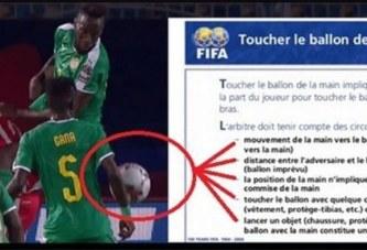 Main de Gana Gueye contre la Tunisie : Pourquoi l'arbitre n'a pas sifflé penalty ? Les explications