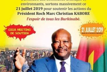 Meeting de soutien à Roch Kaboré à Abidjan : De l'arnaque, voici pourquoi !