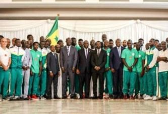 Macky Sall promet une prime spéciale de 20 millions F CFA aux Lions