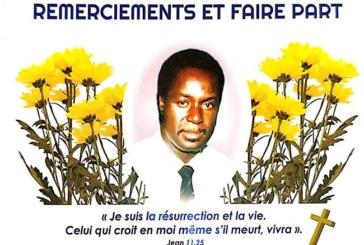 Invitation à prendre part aux funérailles chrétiennes du journaliste Justin Coulibaly