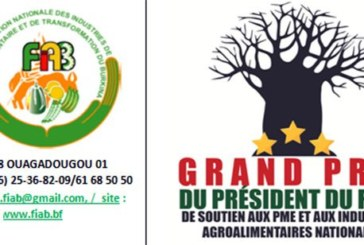 Appel à candidature pour le  «Grand Prix du Président du Faso pour le soutien au développement de la compétitivité des PME et Industries agroalimentaires nationales»