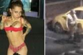Une star du porno naine poignarde son mari infidèle avec un couteau à beurre