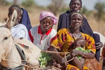 Une culture derrière nous, la culture ouest africaine, les Touareg-Bella et les Gourmantché