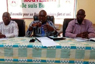 Paix,  cohésion sociale et réconciliation nationale: Le mouvement «Je suis Burkina» veut passer à l'acte