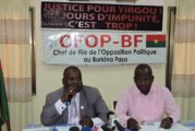 L'Opposition au MPP: «Ce n'est pas l'heure de pleurnicher parce que les autres nous fuient… notre salut viendra de nous et pas d'ailleurs»