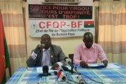 Burkina : «Après avoir accusé l'ancien régime, la France, la Transition, l'Opposition, des syndicats, (…) le MPP tiendra prochainement les extraterrestres pour responsables de son inqualifiable échec» (Opposition)