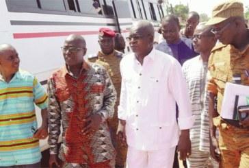 Attaque du convoi de SEMAFO : Le ministre Chériff Sy au chevet des blessés