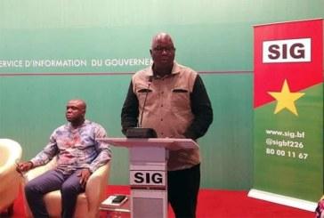 Point de presse du gouvernement «Il y'aura bel et bien élections en 2020», dixit Siméon Sawadogo